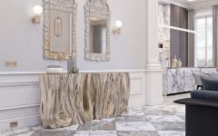 A Modern Console Table Perfect For A Contemporary Design ft