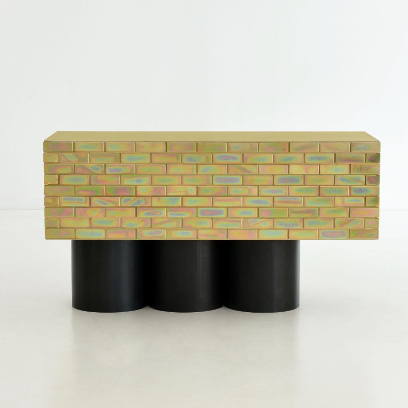 Contemporary Consoles by Top Designers contemporary consoles Contemporary Consoles by Top Designers A piece of furniture made of brick Gregor Jenkin Studio Credit Peter Maltbie 1 master