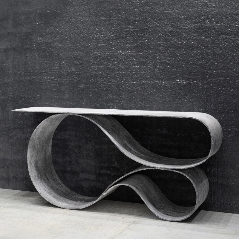 Contemporary Consoles by Top Designers contemporary consoles Contemporary Consoles by Top Designers whorl console neal aronowitz design furniture table usa dezeen 800 sq2